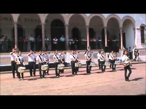 Banda de Guerra Prepa Augusto cesar Sandino UAS 11
