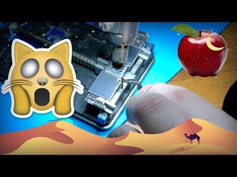 IPhone 6 залоченный и восстановленный из Китая -  как снять впаянную R-sim с айфона
