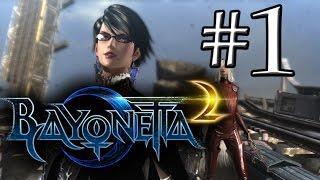 BAYONETTA 2 (PARTE 1) Gameplay en Español | DonTomasGamer