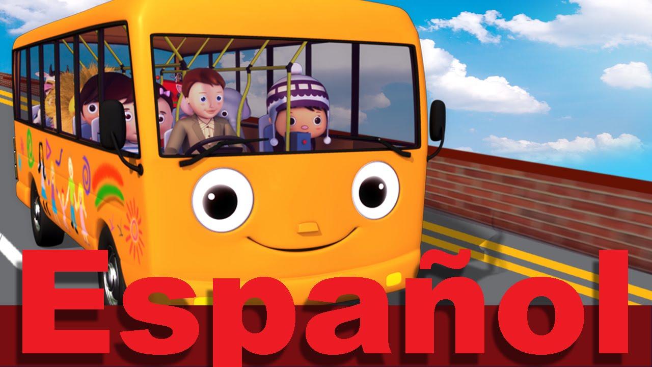 Las ruedas del autobús | Parte 5 | Canciones infantiles ...