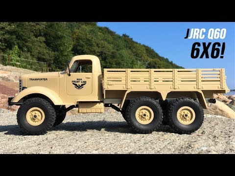 jjrc-q60-transporter-1-unboxing-&-first-run!-new-6x6-1/16-rc-military-truck!-courtesy-of-geekbuying!