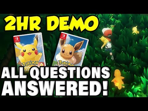 NEW EXCLUSIVE INFO ABOUT POKEMON LET'S GO! HELD ITEMS / ABILITIES / MORE!