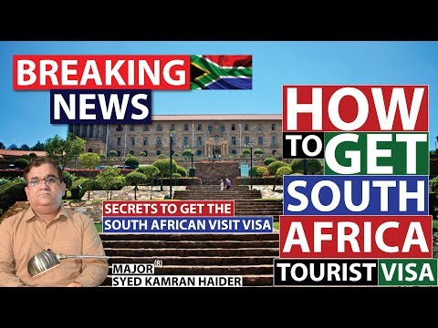 How To Get South African Visa | Secret To Get South Africa Visa |