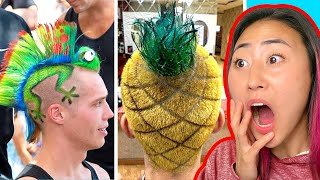 UNBELIEVABLE TIK TOK HAIR TRANSFORMATIONS!!!