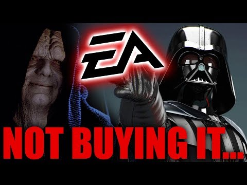 EA Is Fully Committed To Star Wars Games, By Cancelling Great Ones...