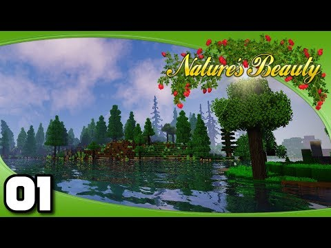 Nature's Beauty - Ep. 1: It's Finally Here! | Vanilla+ Minecraft Modded Survival