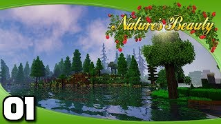 Nature's Beauty - Ep. 1: It's Finally Here! | Vanilla+ Minecraft Modded Survival