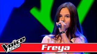 Repeat youtube video Freya synger: Naughty Boy ft. Sam Smith –  'La La La' - Voice Junior / Blinds