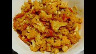 Mummy's Cooking - Cauliflower Poriyal in Tamil