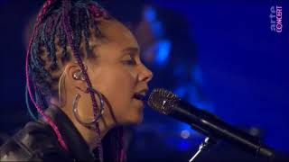 Download Alicia Keys - Try Sleeping With A Broken Heart Live MP3 song and Music Video