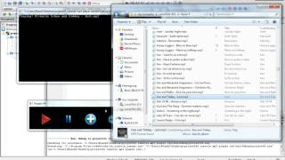 Console Mp3 Player using C++, OpenGL and SDL libraries