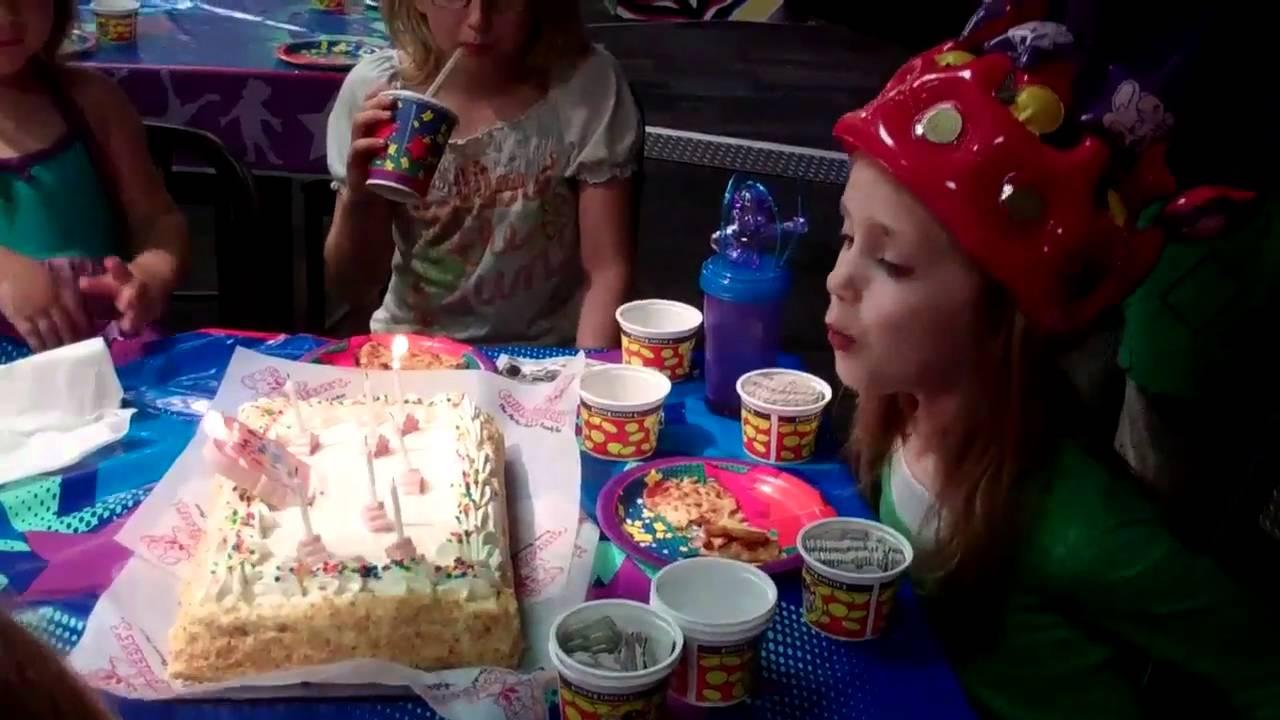 Birthday Cake At Chuck E Cheese YouTube