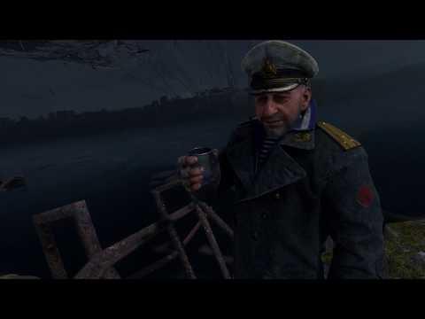 Сэм бухает с капитаном Metro Exodus История Сэма (смешные моменты)