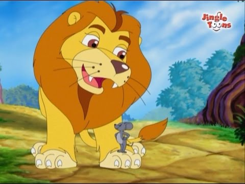 Lion And Mouse Story In Gujarati  Gujarati Balgeet  Stories For Kids In Gujarati  Kids Stories