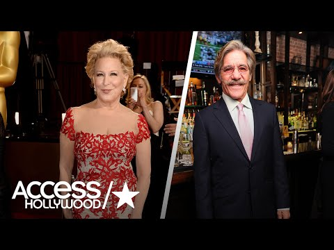 Bette Midler Accused Geraldo Rivera Of Groping Her In The '70s In A Past