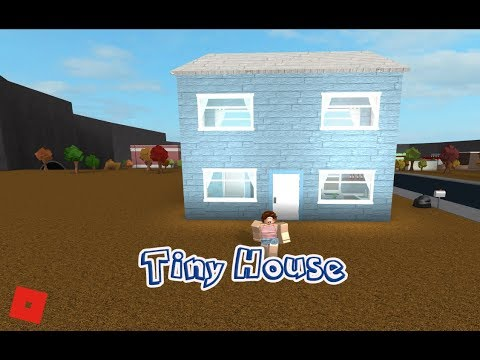 Roblox Welcome To Bloxburg Speed Build Tiny House 3x7
