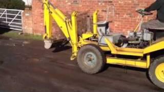Thwaites Tusker Digger / Dumper