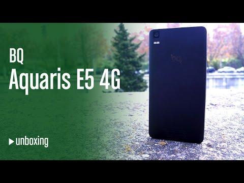 Unboxing bq Aquaris E5 4G