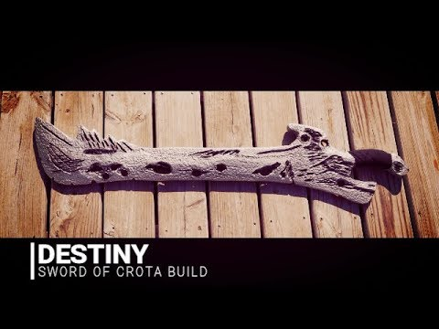Destiny Sword Of Crota Build Cosplay Prop Youtube