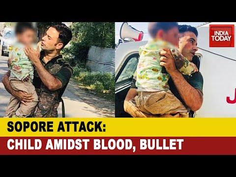Sopore Terror Attack: Security Forces Rescue 3-Year-Old From Bullets In Jammu And Kashmir