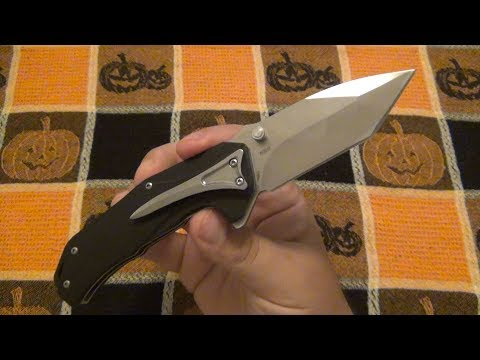 Komoran KO017 Folder (Bearing System & D2 Blade For Under $20)