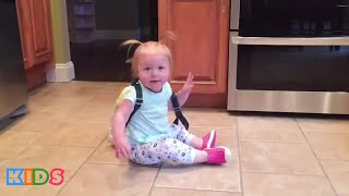 Funny Baby Fails Videos - Babies Kids Falling Compilation | Hilarious Kids