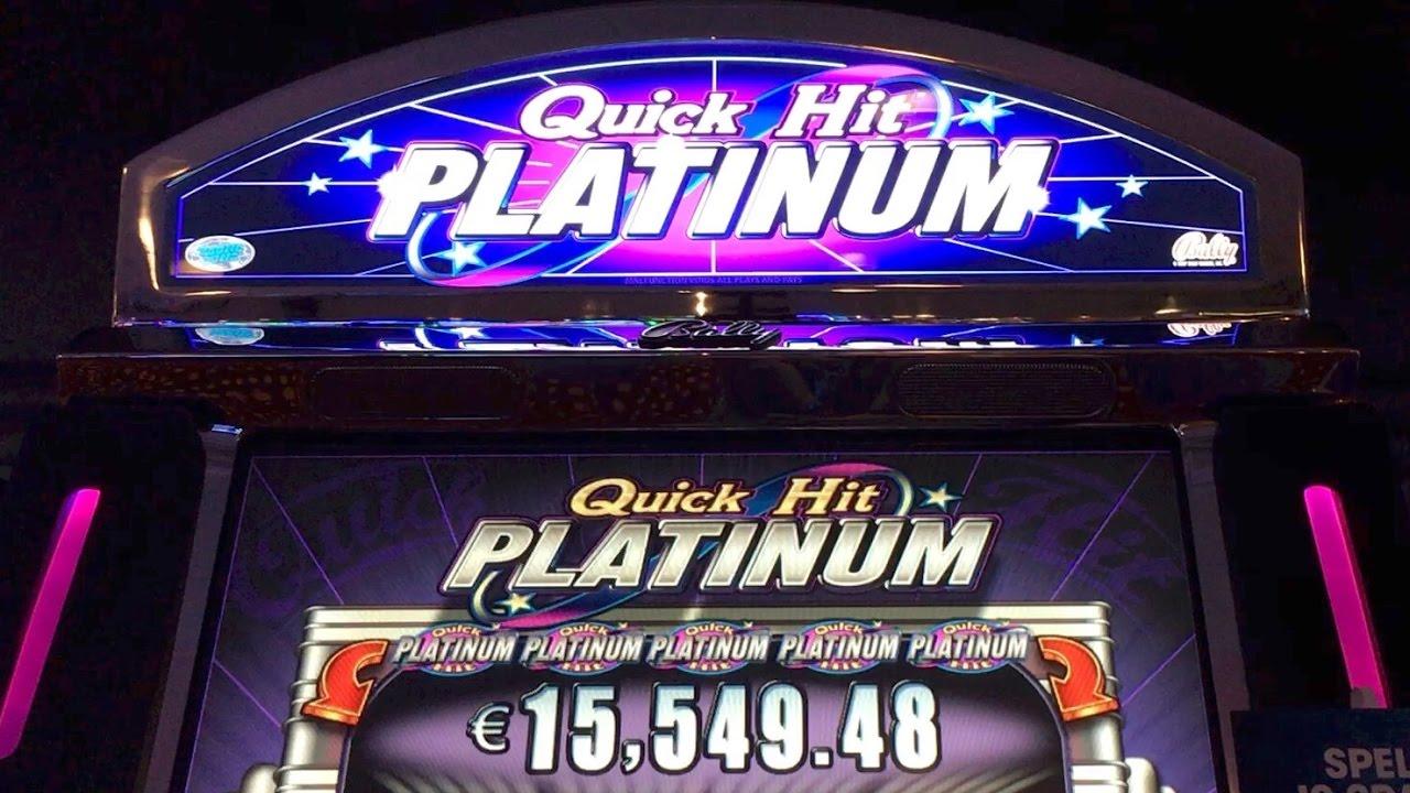 Platinum slot machine