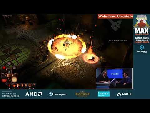 Warhammer: Chaosbane - Gamescom 2018 (Gameplay - Review - interview)