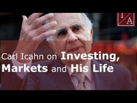 Carl Icahn on Investing, Markets and His Life