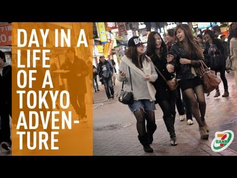 A Day In A Life Of A Tokyo Adventure