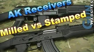 AK47 Milled Vs. AKM Stamped Receivers
