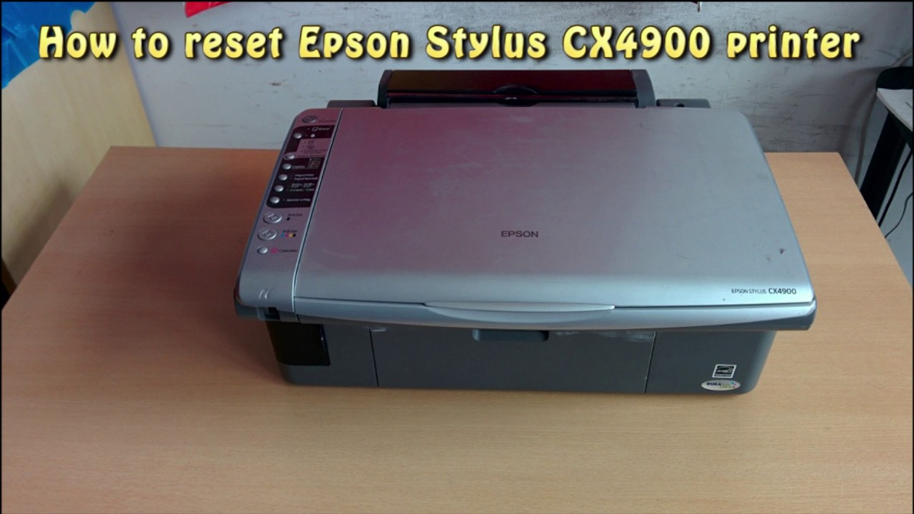 DRIVERS EPSON STYLUS CX4900 SCANNER