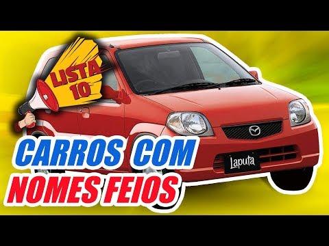 10 CARROS COM OS PIORES NOMES (by Inscritos)