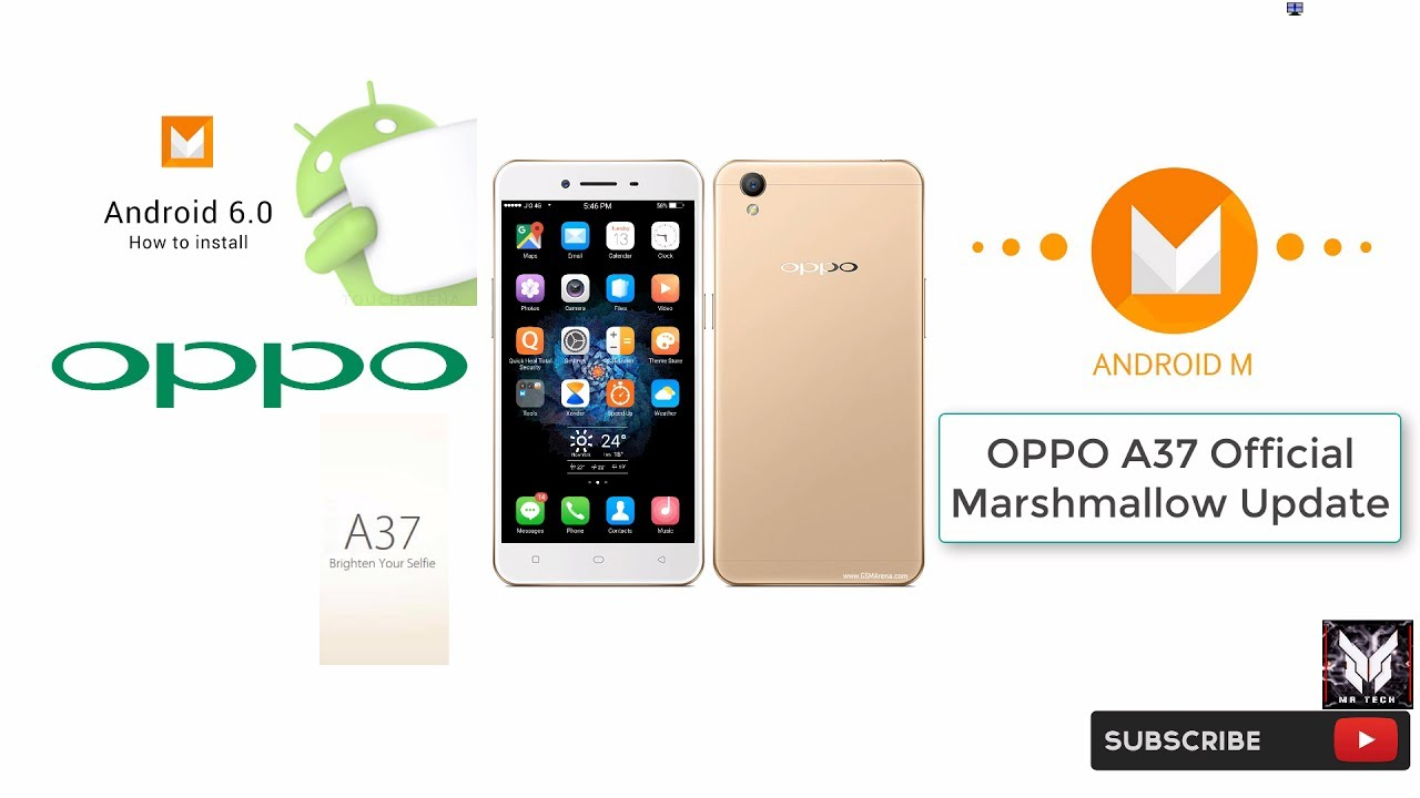 Oppo A37 official Marshmallow android 6 0 update