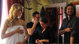 Elena Santarelli GLAMme by Celly backstage - #Glamyourself