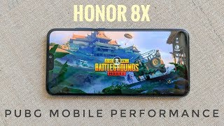 Honor 8X Gaming Review | PUBG Mobile HD Performance