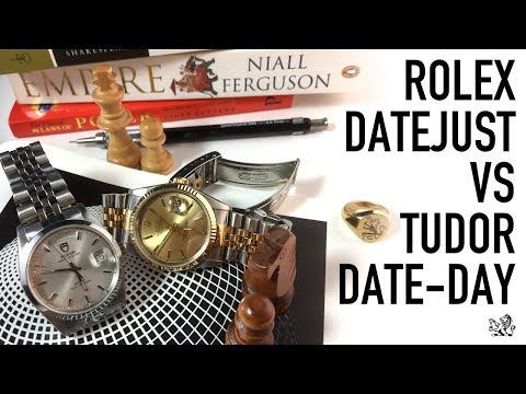 Duel For The Best Everyday Luxury Watch ($2000 to $4000) - Rolex DateJust Vs Tudor Prince Date-Day