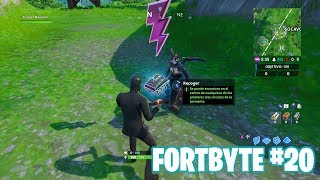 Fortnite Battle Royale ? Fortbyte Challenges How to get the Fortbyte #20