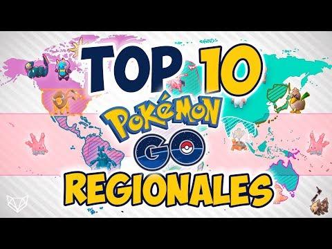 Top 10 Mejores Pokémon REGIONALES - Pokemon Go [LioGames] thumbnail