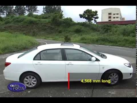 Auto Focus Production Models BYD L3 2014