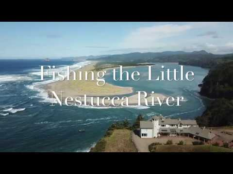Salmon Fishing On The Little Nestucca
