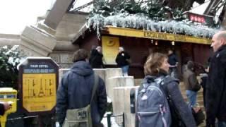 PARIS SOUS LA NEIGE #40 (Snow Eiffel Tower)