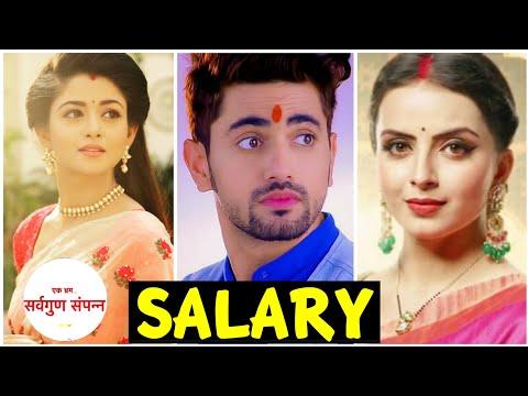 Per Day Salary of Sarvgun Sampanna Serial Cast | Zain Imam | Shrenu Parikh