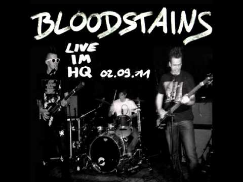 Bloodstains - Tied down (Negative Approach)