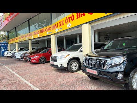 Báo giá các mẫu xe ô tô cũ hạng sang tại Việt Tuấn Auto | P2 Tháng 6-2021