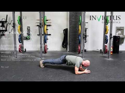 Core Workout #14 | CrossFit Invictus Gymnastics