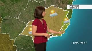 Previsão Sudeste – ES com chuva leve