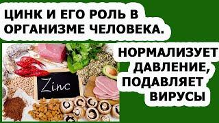 Правильное питание Витамины Цинк и его польза для организма человека