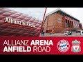 Allianz Arena or Anfield Road? | FC Bayern vs. Liverpool FC