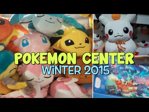 TOKYO POKEMON CENTER TOUR // WINTER 2015